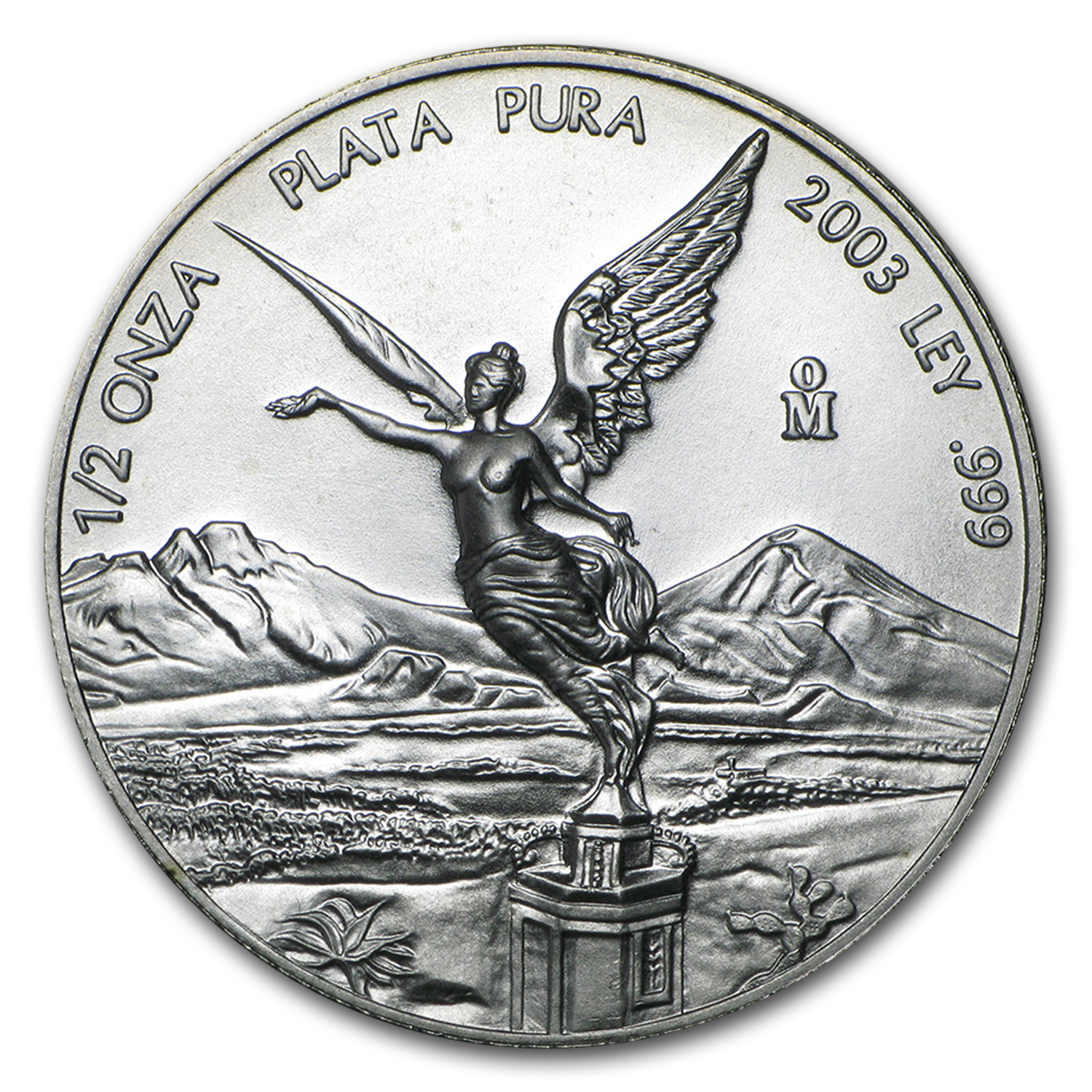 2003 1/2 oz Silver Mexican Libertad (Brilliant Uncirculated)