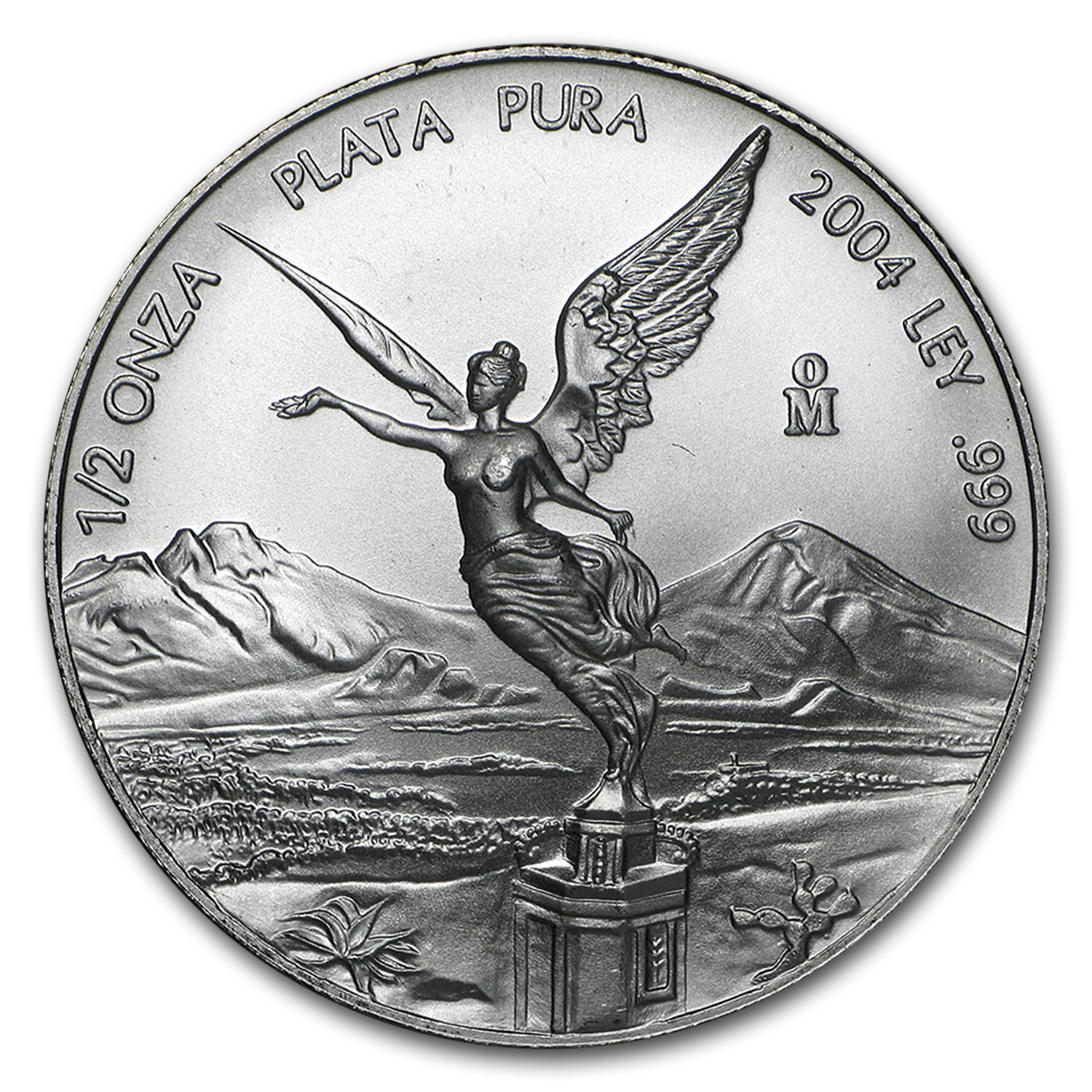 2004 1/2 oz Silver Libertad (Brilliant Uncirculated)