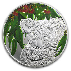 2011 Cook Islands Scent of Australia Koala & Eucalyptus Leaves