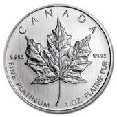 1 oz Platinum Maple Leaf BU (Random Year)