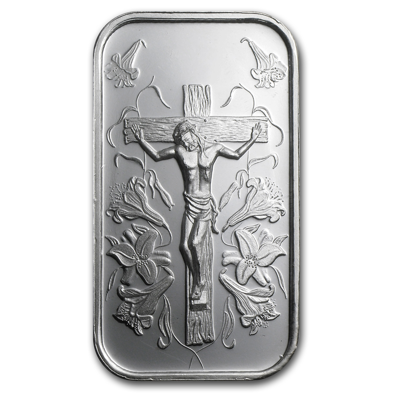 1 oz Silver Bar - Jesus (w/Gift Box & Capsule)