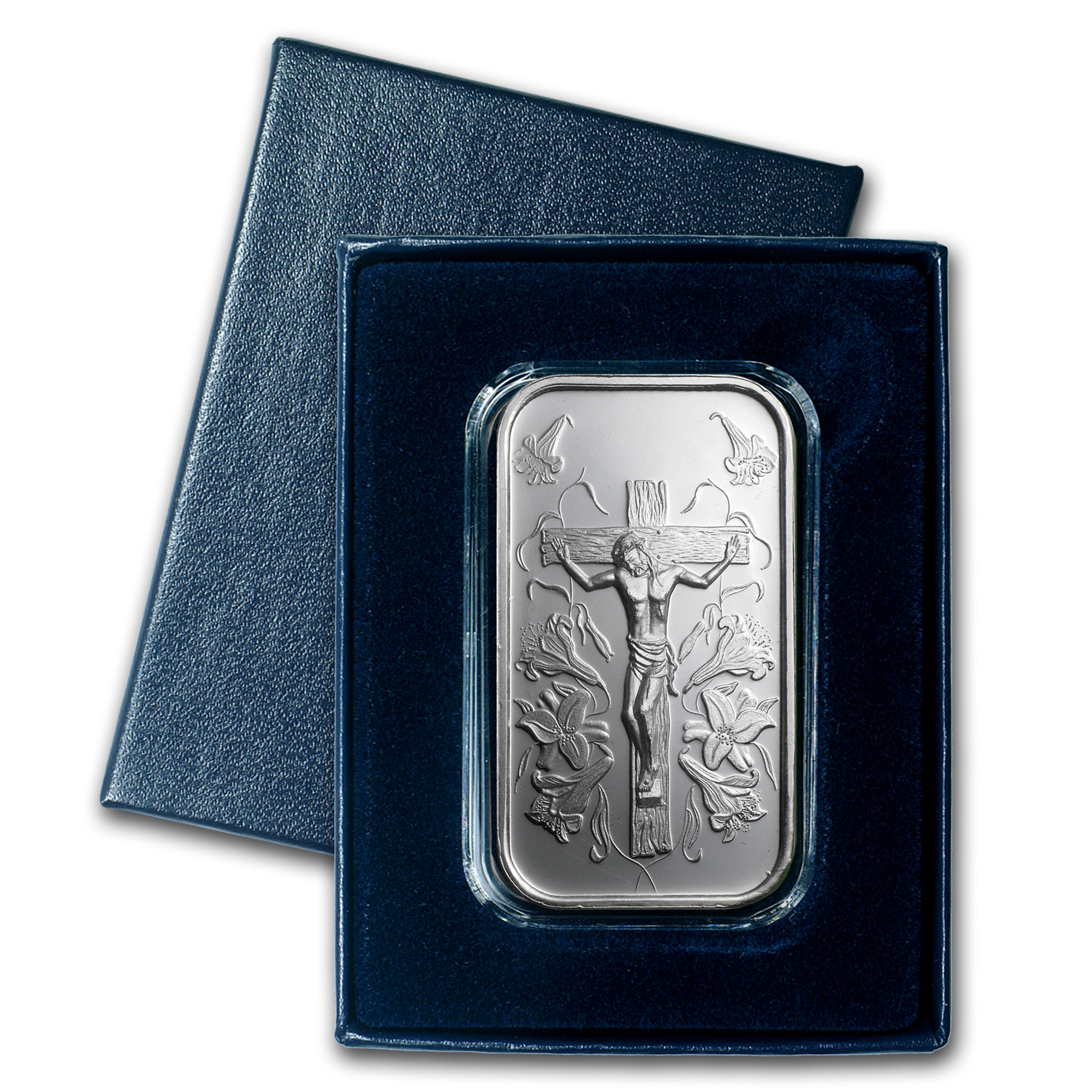 1 Oz Silver Bar Jesus W Gift Box Amp Capsule 1 Oz