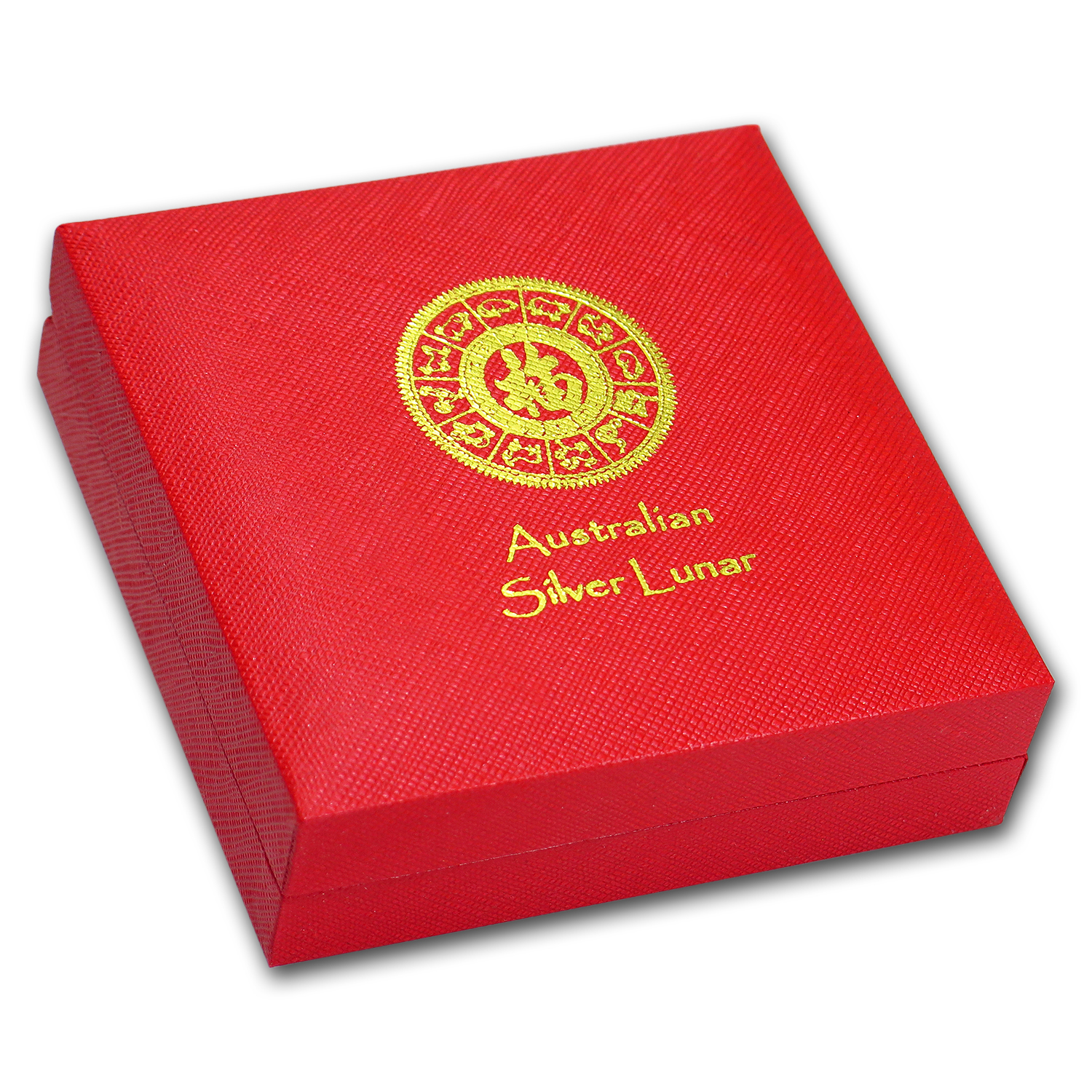 Lunar Series II (5 oz Silver) - Single Coin Red Presentation Box