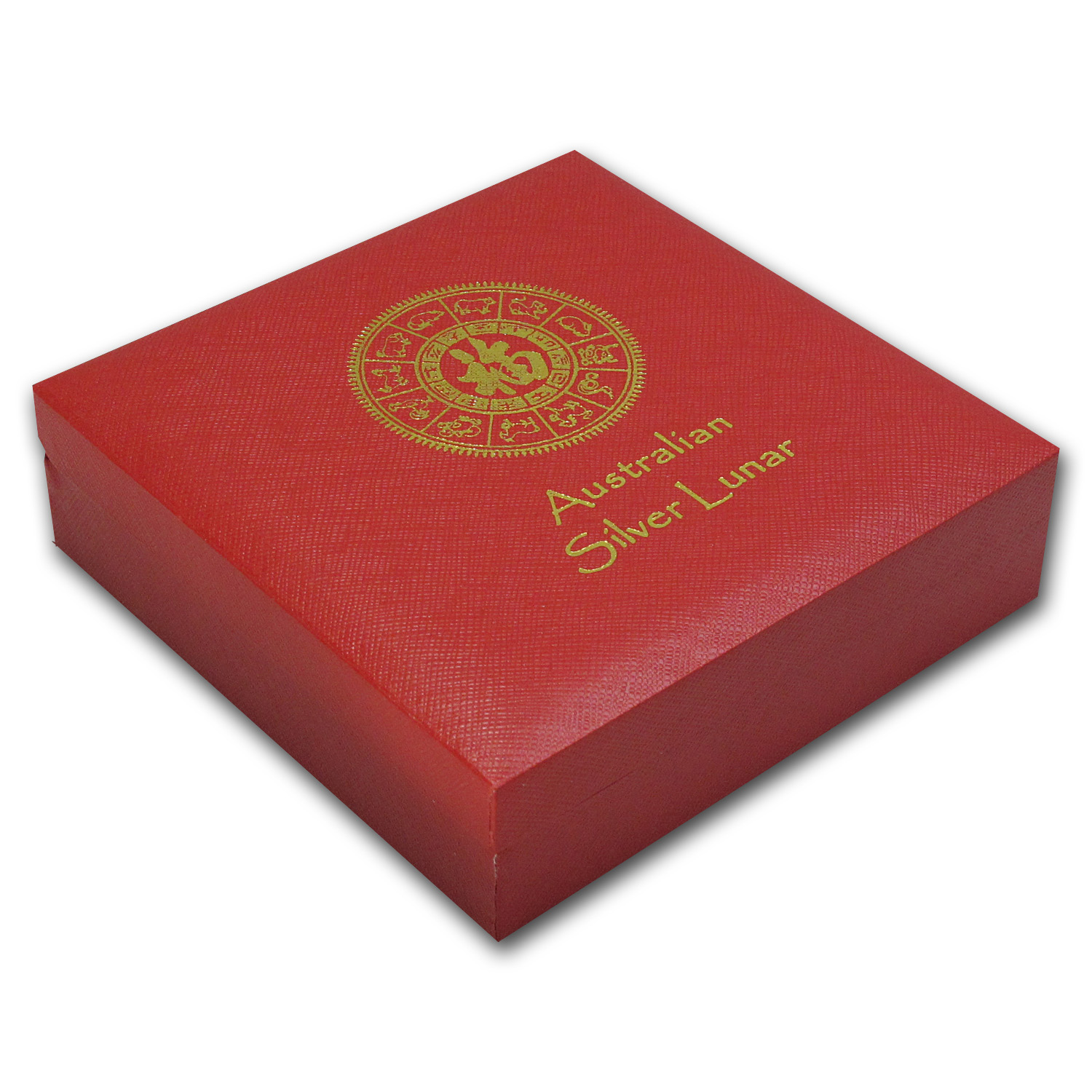 Lunar Series 1 & 2 (Kilo Silver) Red Presentation Box