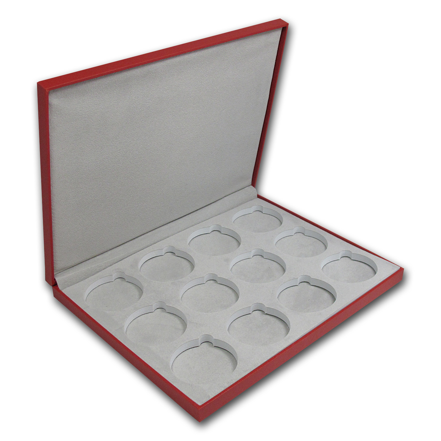 Lunar Series II (2 oz Silver) 12 coin Red Presentation Box