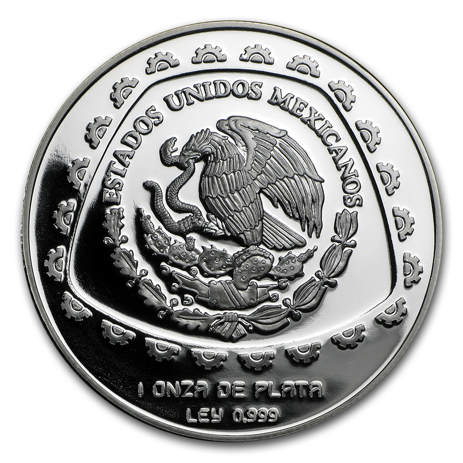 1998 1 oz Mexican Silver 5 Pesos Sacerdote (Proof)