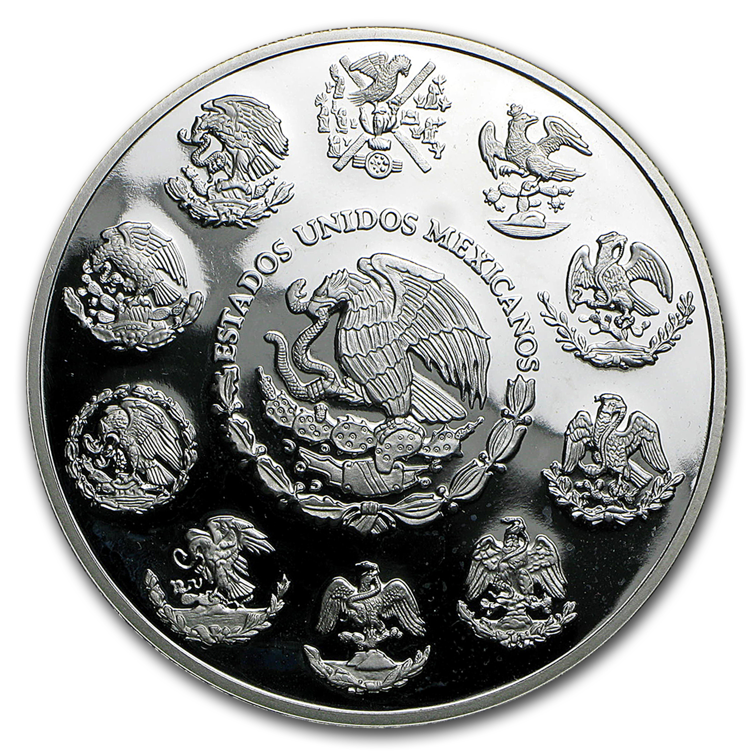 2006 Mexico 2 oz Silver Libertad Proof (In Capsule)