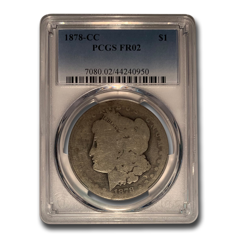 1878-CC Morgan Dollar Fair-2 PCGS (Low Ball Registry)