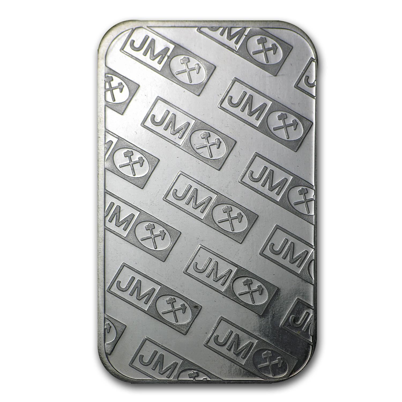 1 2 Oz Silver Bar Johnson Matthey Fractional Less