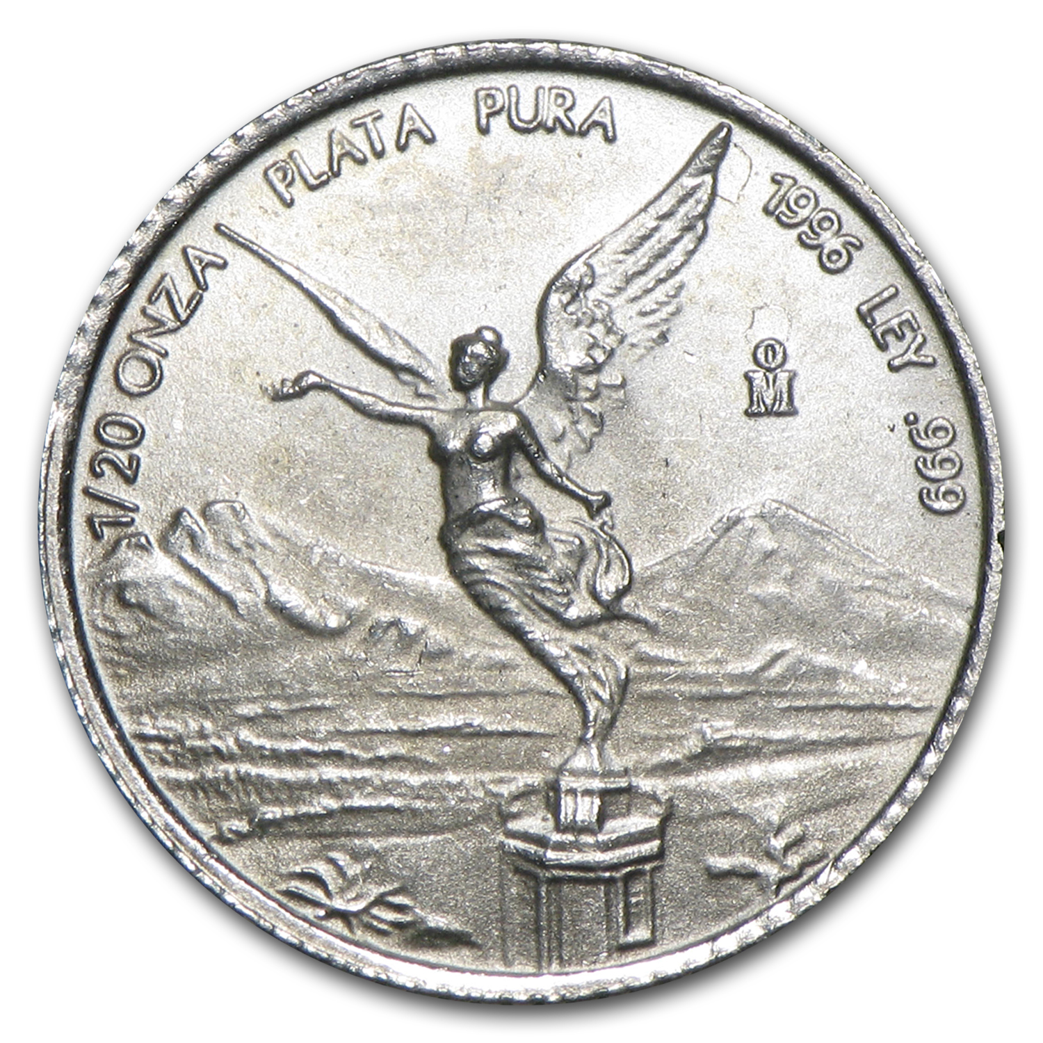 1996 1/20 oz Silver Mexican Libertad (Brilliant Uncirculated)