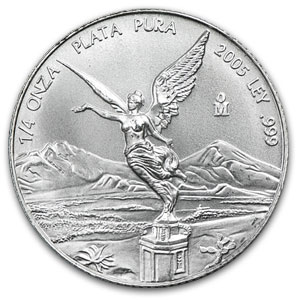 2005 1/4 oz Silver Mexican Libertad (Brilliant Uncirculated)