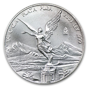 2003 1/4 oz Silver Mexican Libertad (Brilliant Uncirculated)