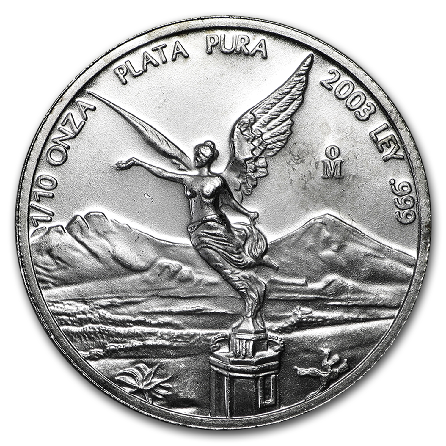 2003 1/10 oz Silver Mexican Libertad (Brilliant Uncirculated)
