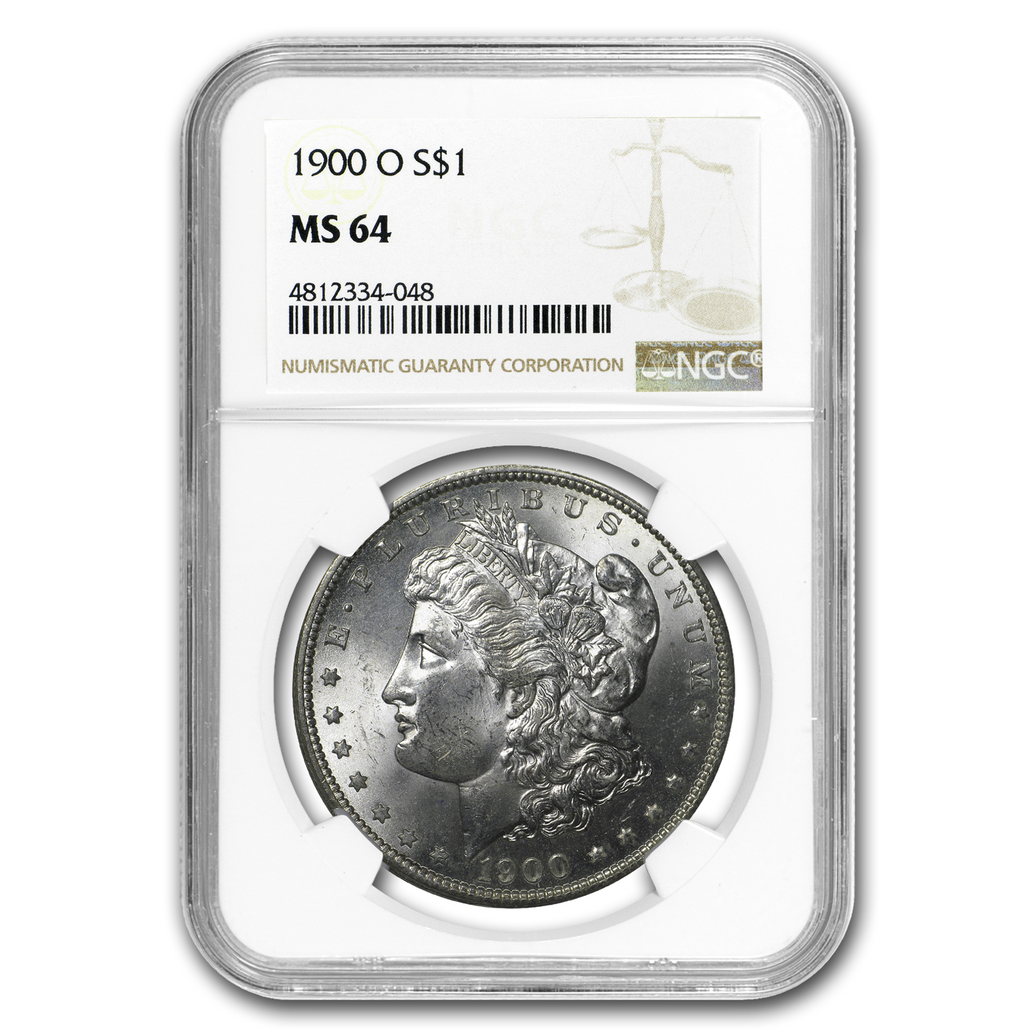 1878-1904 20-Different Dates/Mints Morgan Dollars MS-64 NGC
