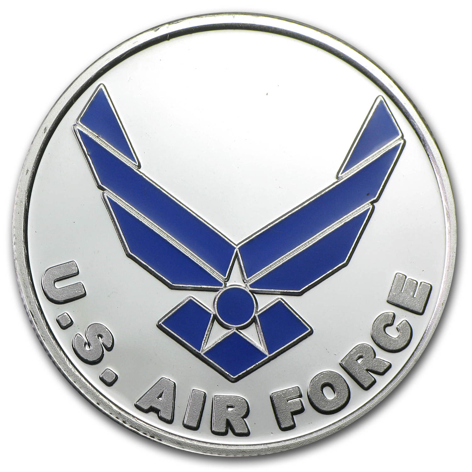1 oz Silver Round - U.S. Air Force (Enameled, w/Box & Capsule)