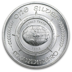 1 oz Silver Rounds - One Silver Mundinero