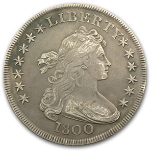 1800 Draped Bust Dollar Very Fine-35
