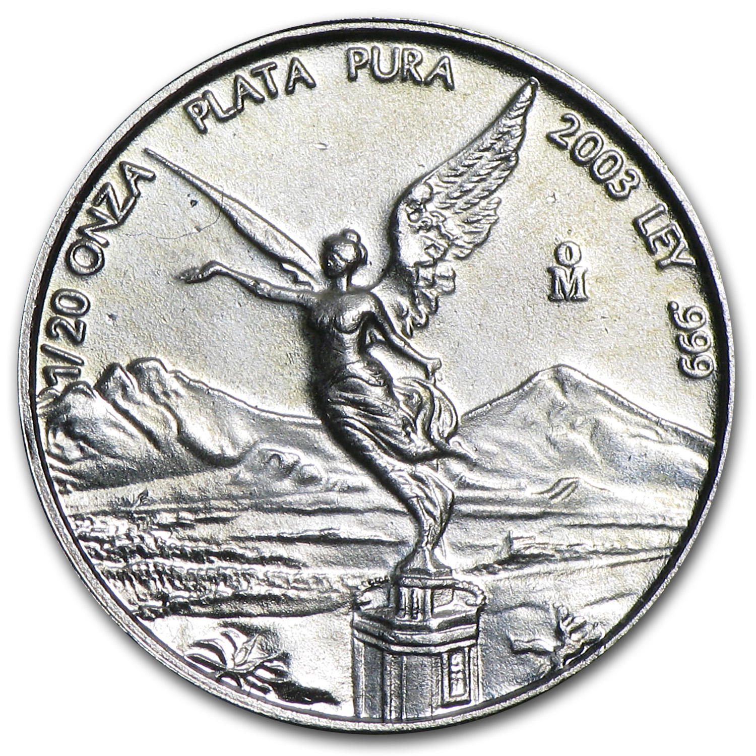 2003 1/20 oz Silver Mexican Libertad (Brilliant Uncirculated)