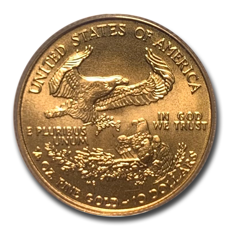 2001 1/4 oz Gold American Eagle PCGS Gem Unc (WTC # 1 of 531)
