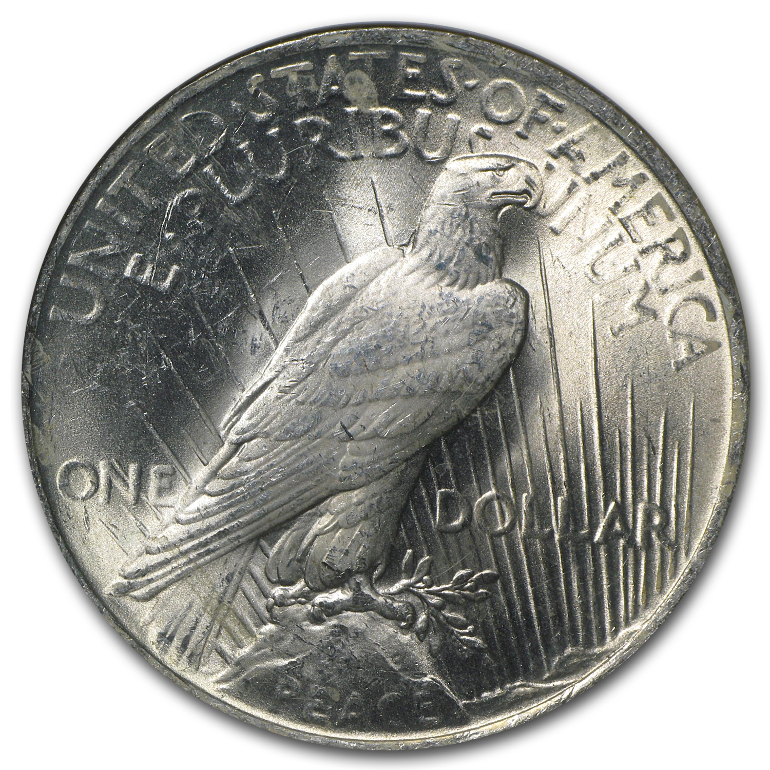 1922 Peace Dollar MS-65 NGC (Binion Collection)