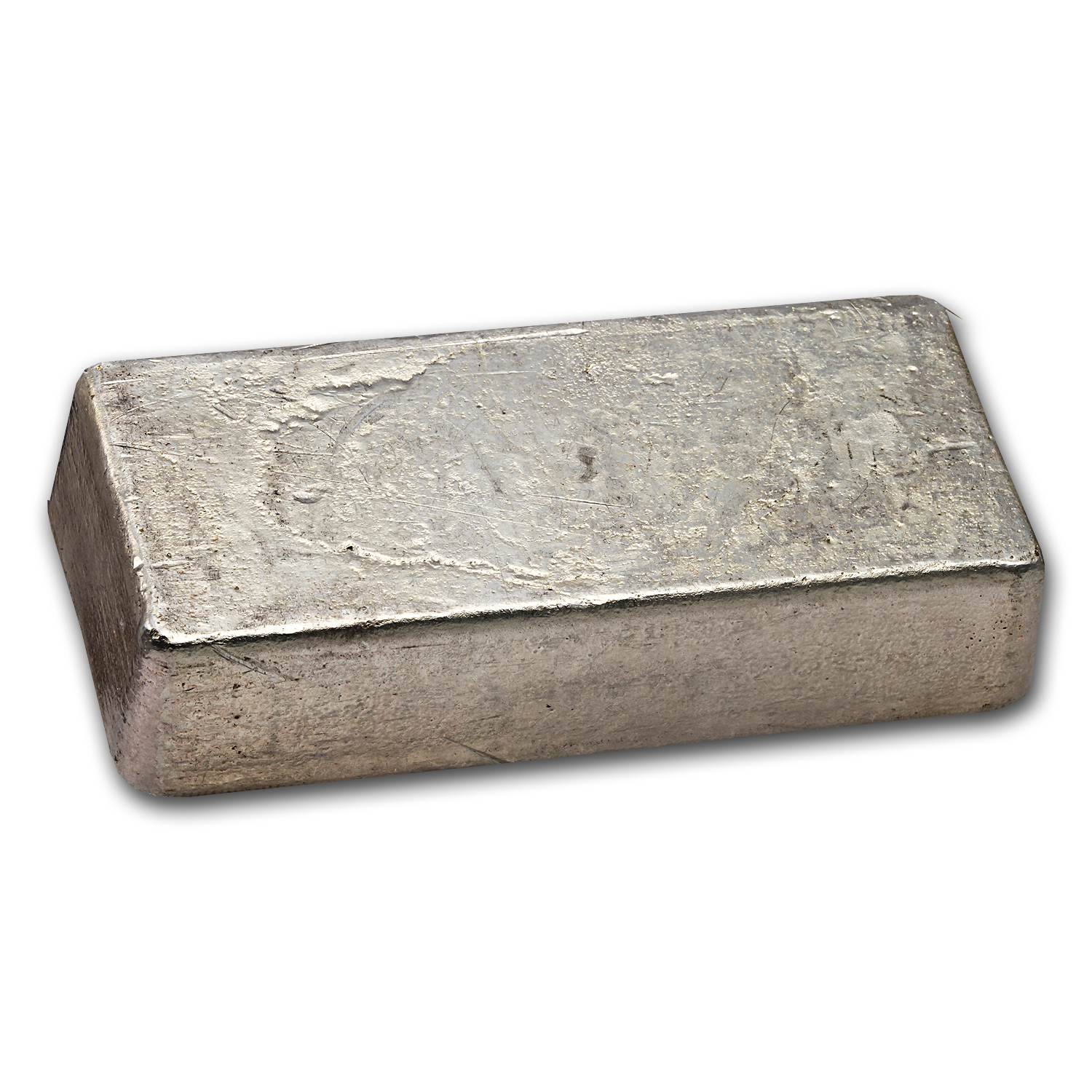 50 oz Silver Bar - Engelhard (Poured/Bull Logo)