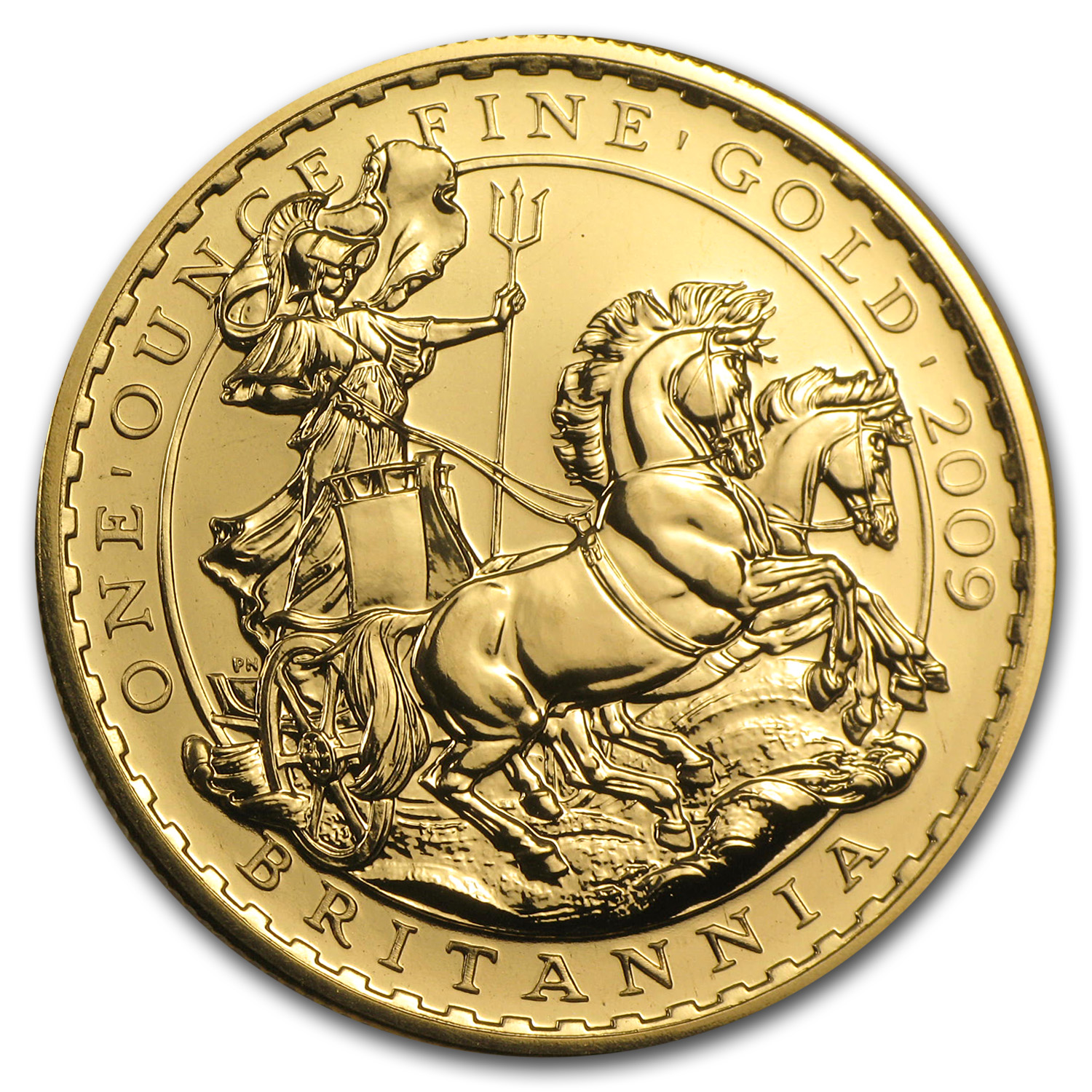 2009 1 oz Gold Britannia - Brilliant Uncirculated