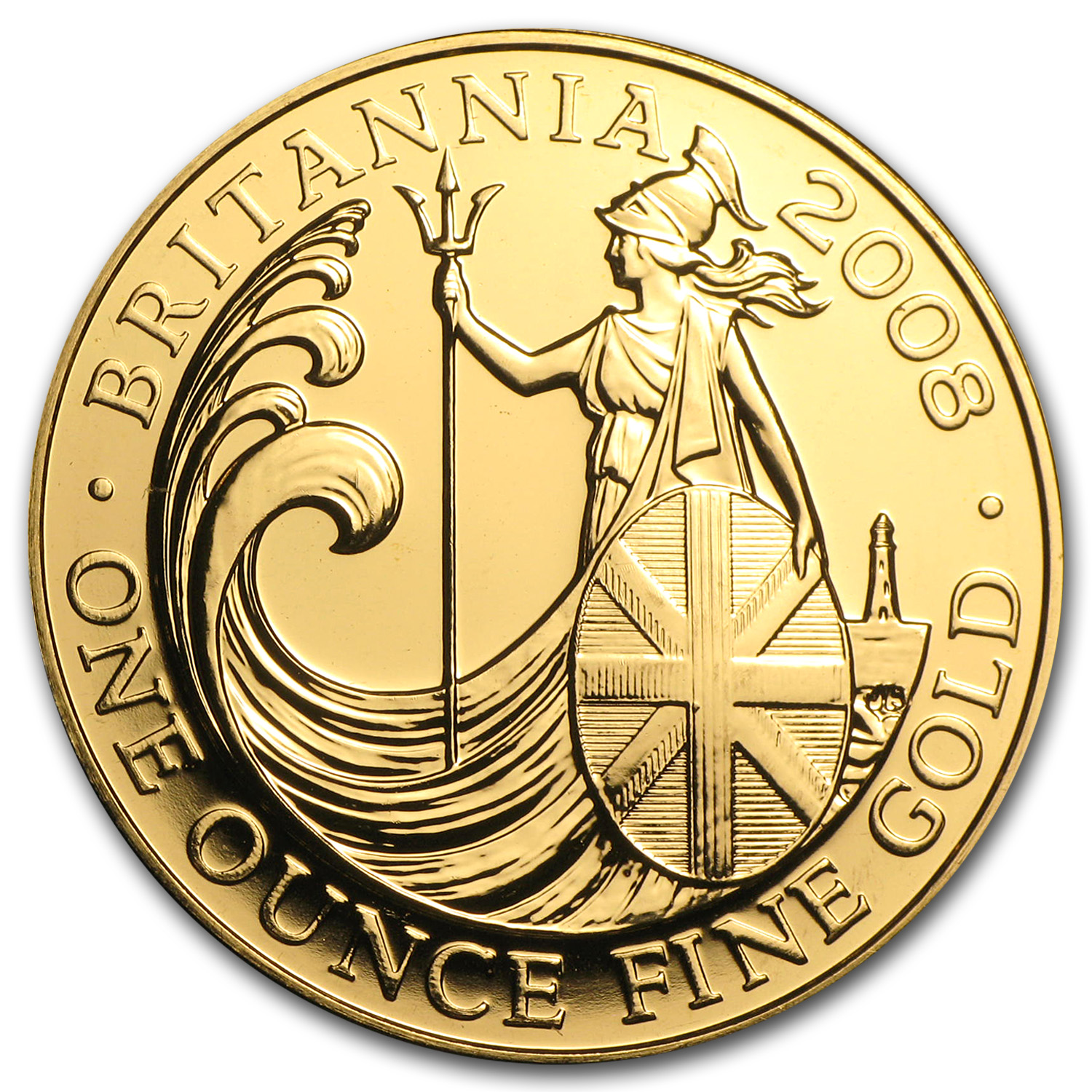 2008 Great Britain 1 oz Gold Britannia BU