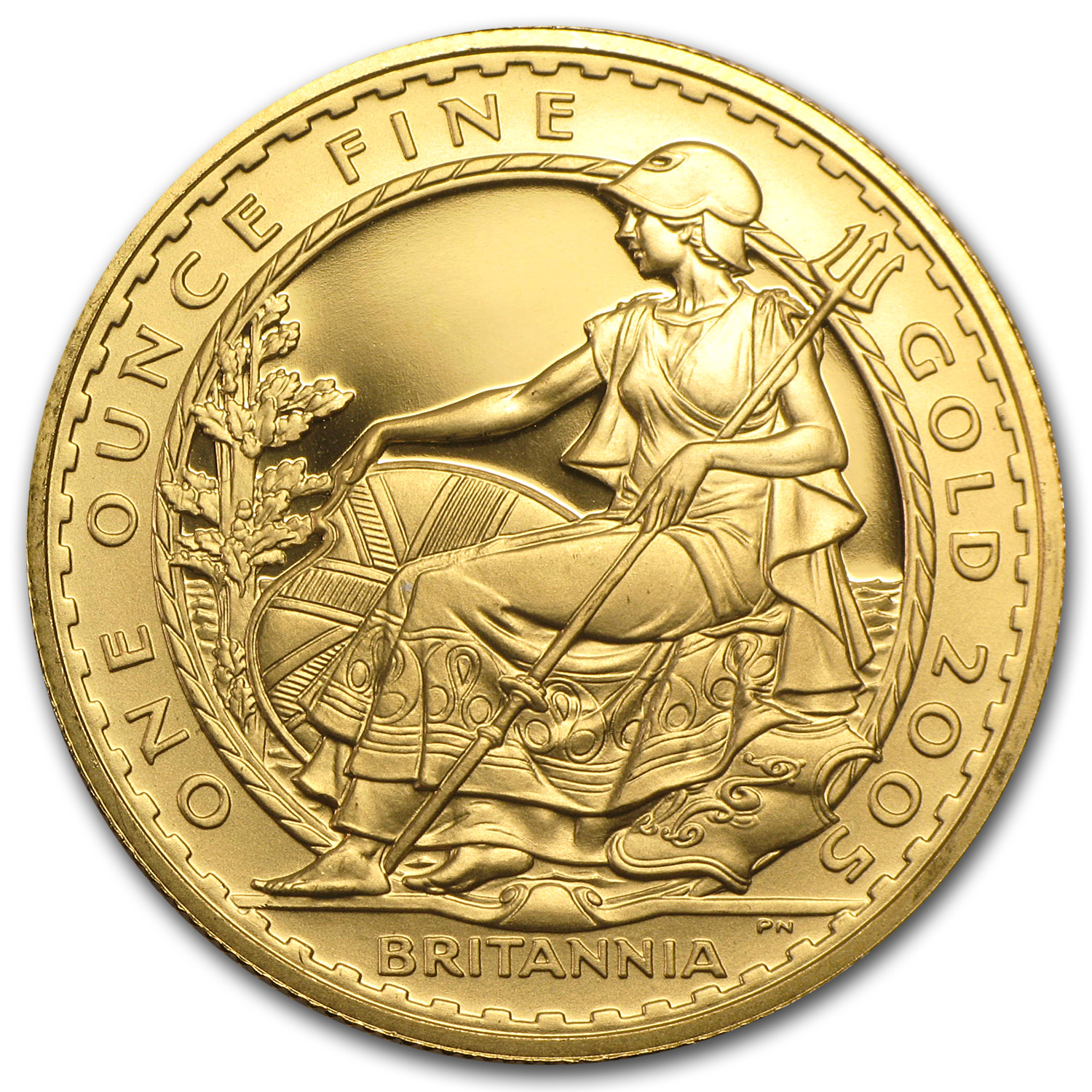 2005 Great Britain Proof Gold 1 oz Britannia