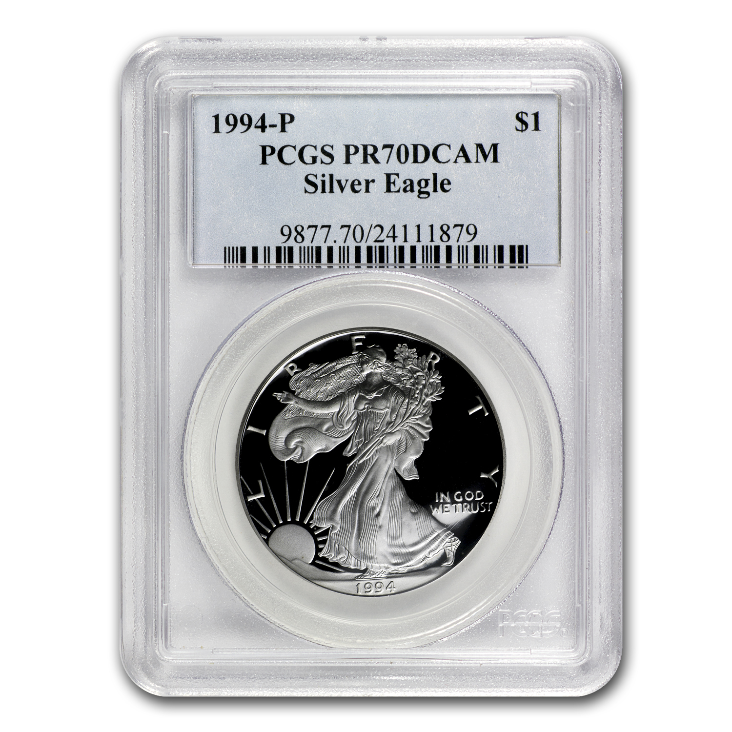 1994-P (Proof) Silver American Eagle PR-70 DCAM PCGS Registry Set