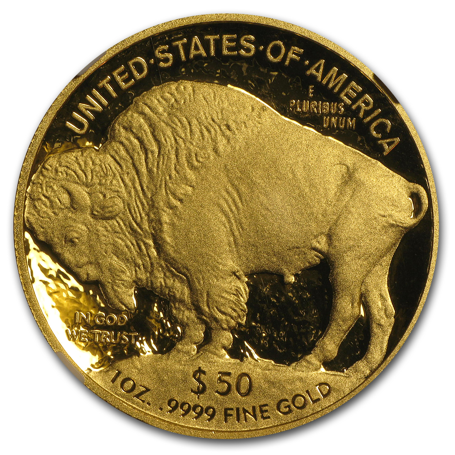 2010-W 1 oz Proof Gold Buffalo PF-70 NGC