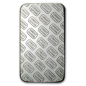 1 oz Silver Bar - Credit Suisse