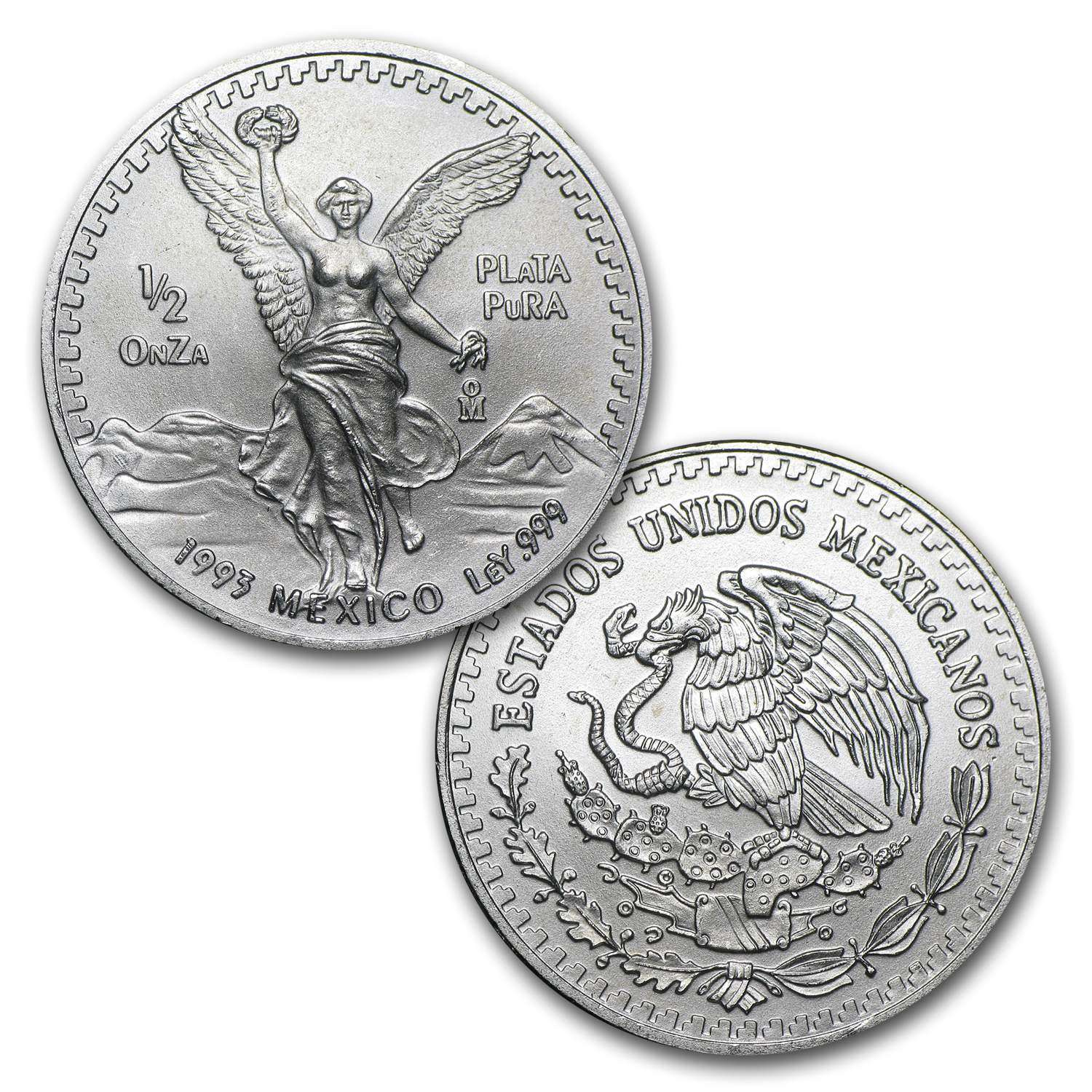 1993 1.9 oz Silver Libertad Set .999 (Brilliant Uncirculated)