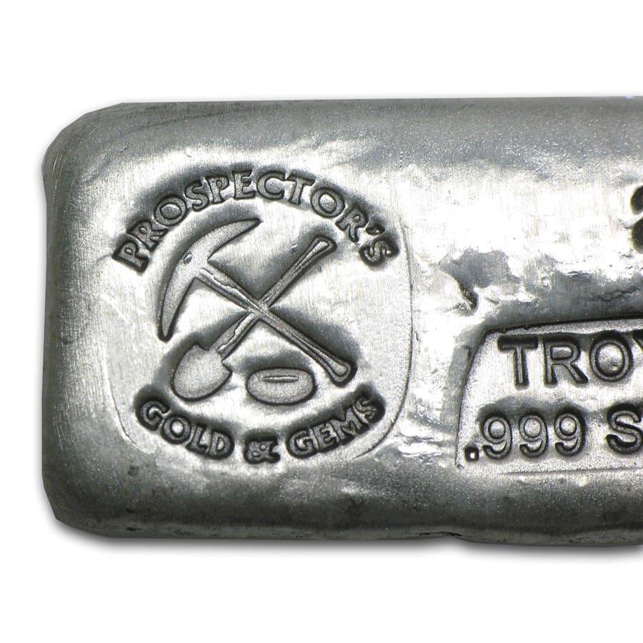 2 Oz Silver Bar Prospector S Gold Amp Gems All Other