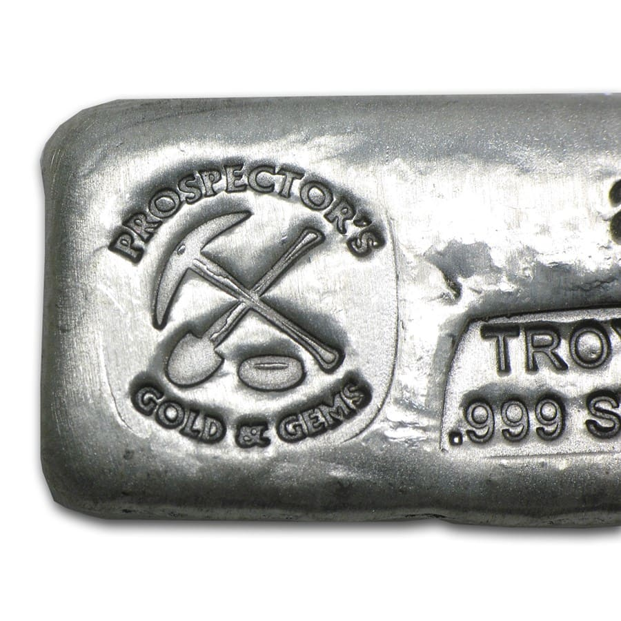 2 Oz Silver Bar Prospector S Gold Amp Gems All Other