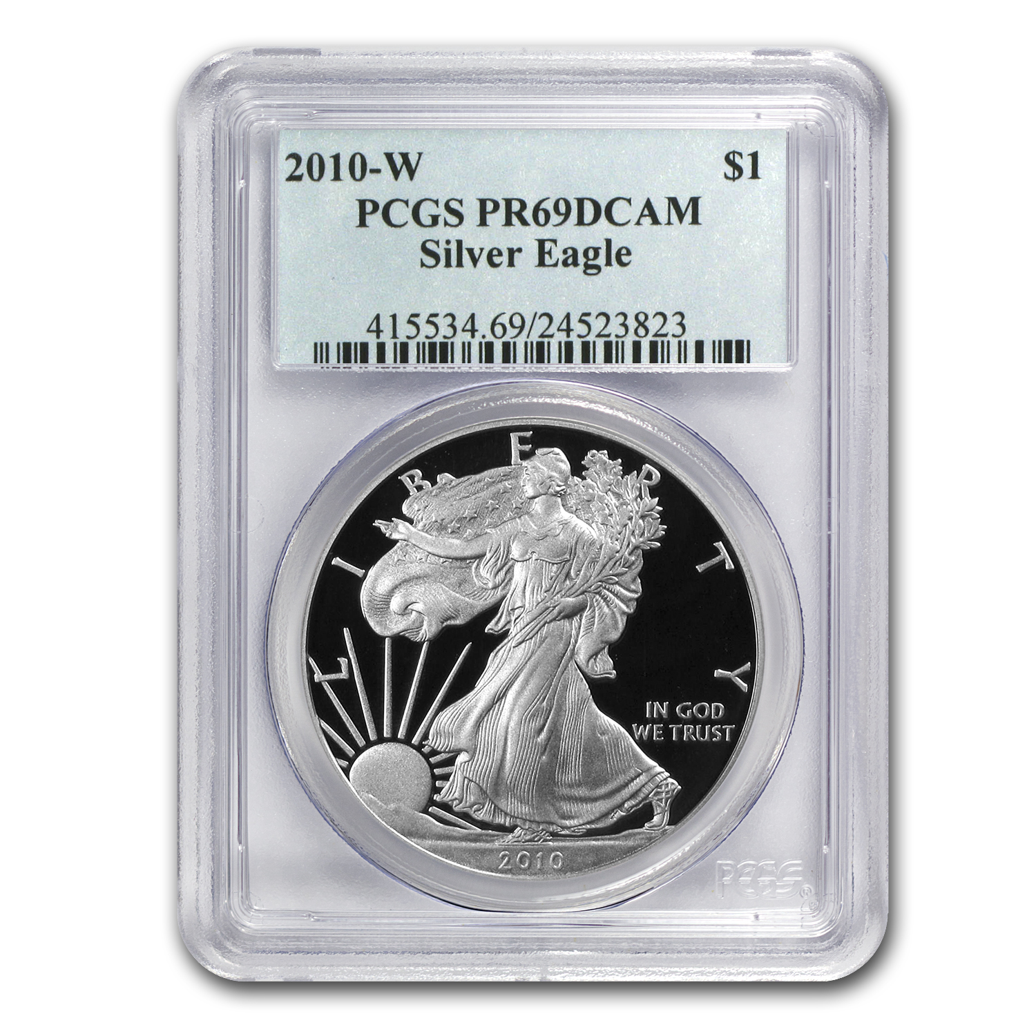 2010-W Proof Silver American Eagle PR-69 PCGS