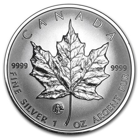 2007 Canada 1 Oz Silver Maple Leaf F12 Privy Rcm Silver