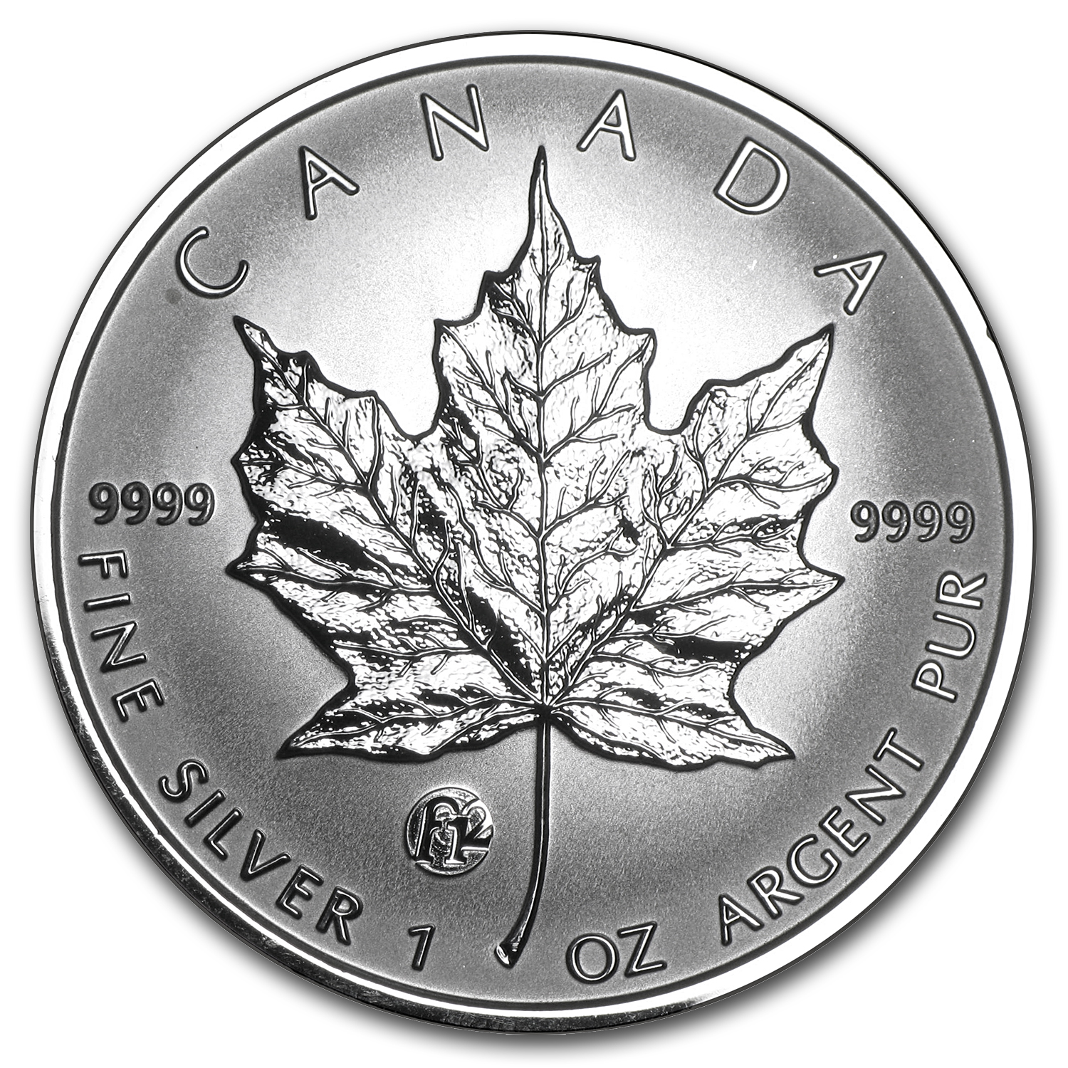 2007 1 oz Silver Canadian Maple Leaf (F12 Privy)