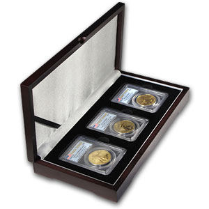 2006-W 3-Coin Gold American Eagle Set 69 PCGS (FS)