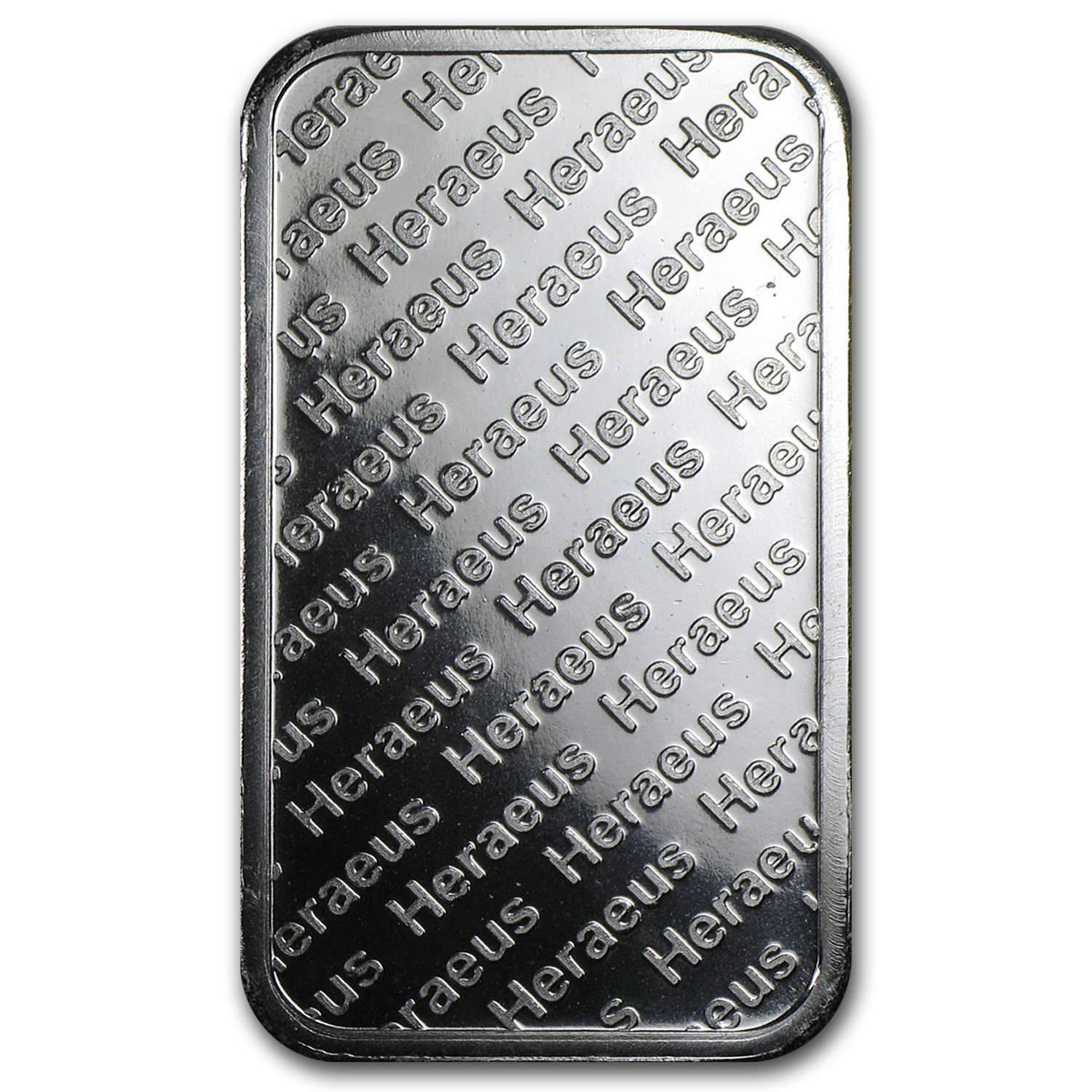 1 oz Silver Bars - Heraeus (Pressed)