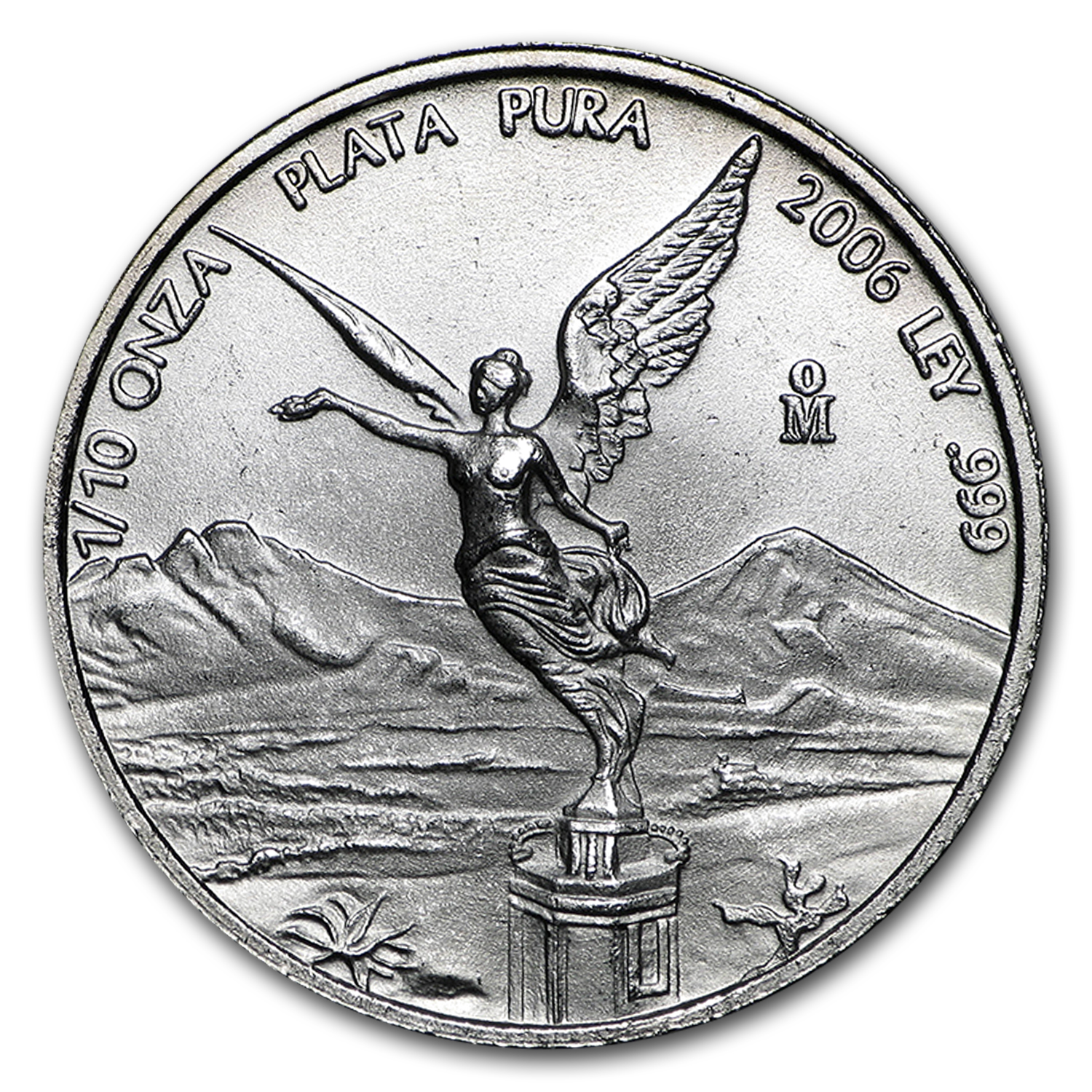 2006 1/10 oz Silver Mexican Libertad (Brilliant Uncirculated)
