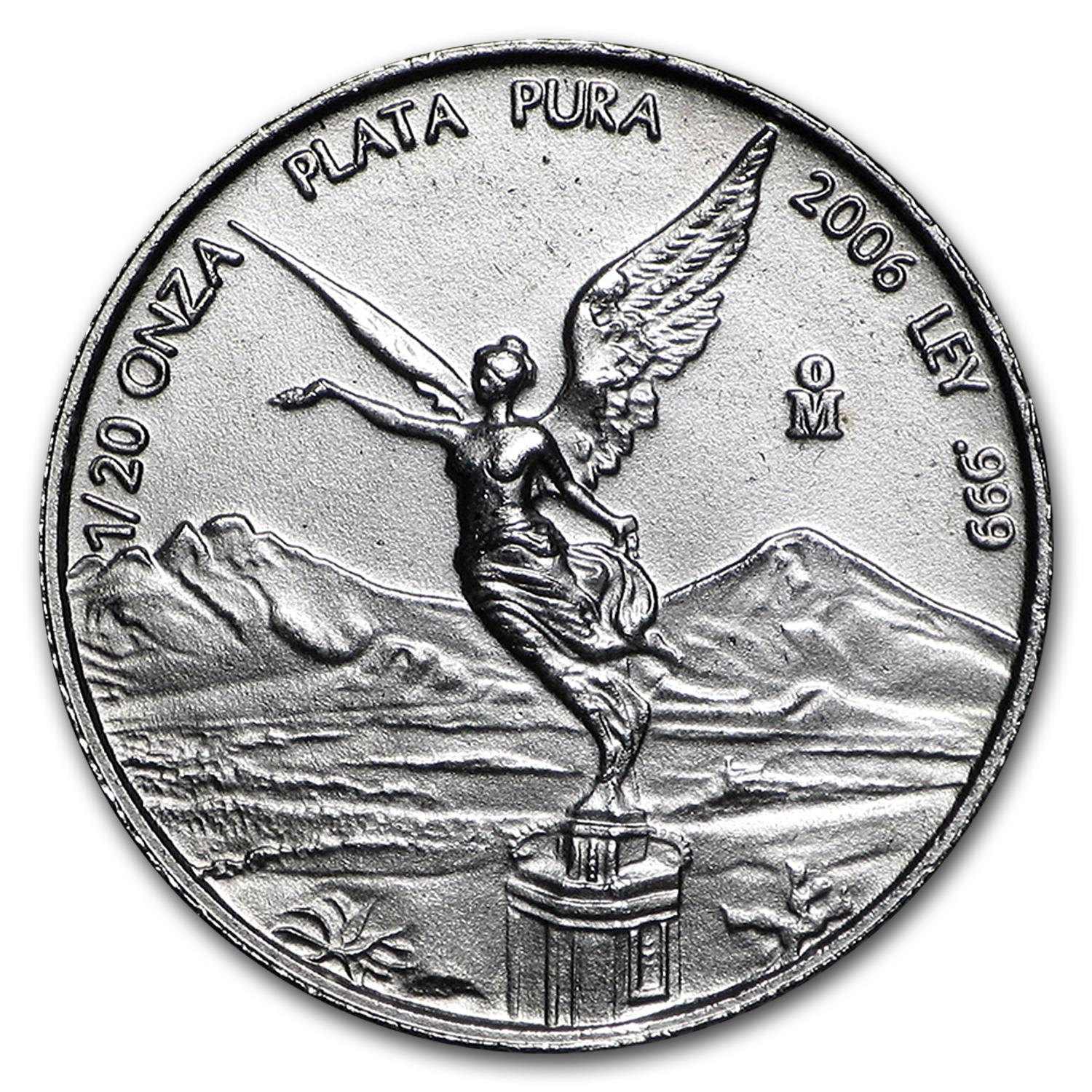 2006 1/20 oz Silver Mexican Libertad (Brilliant Uncirculated)
