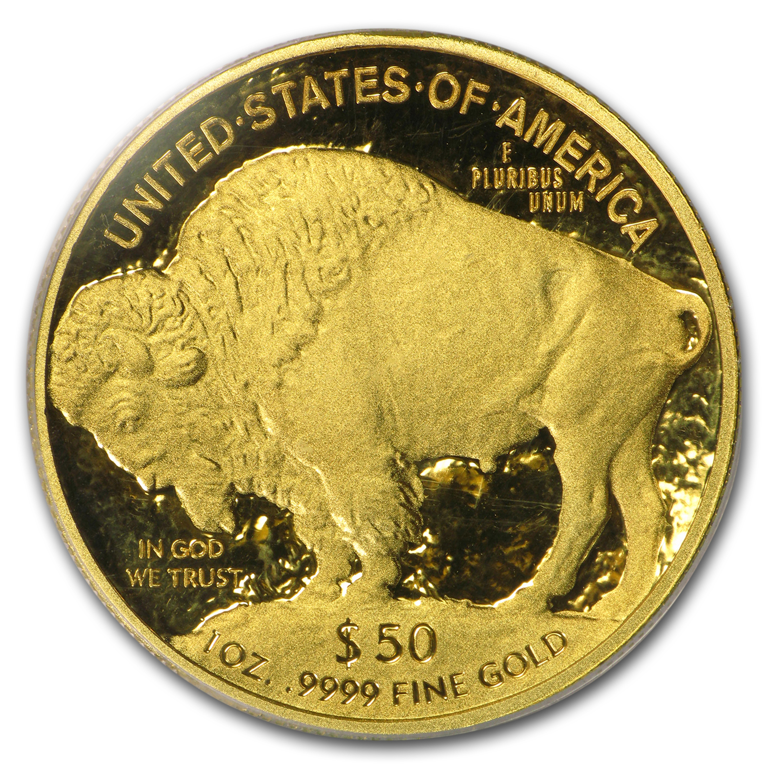 2011-W 1 oz Proof Gold Buffalo PR-69 PCGS (First Strike)