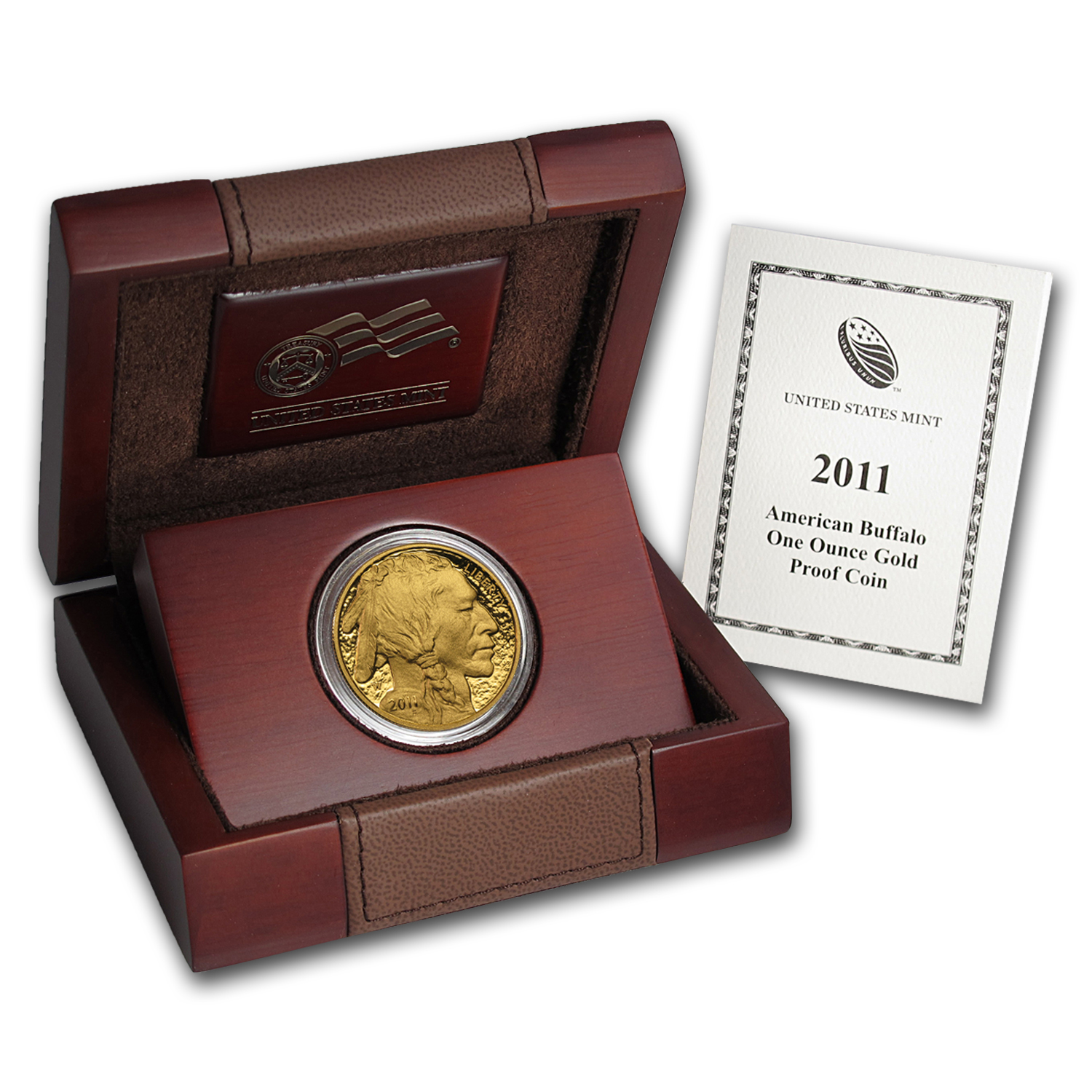 2011-W 1 oz Proof Gold Buffalo (w/Box & COA)