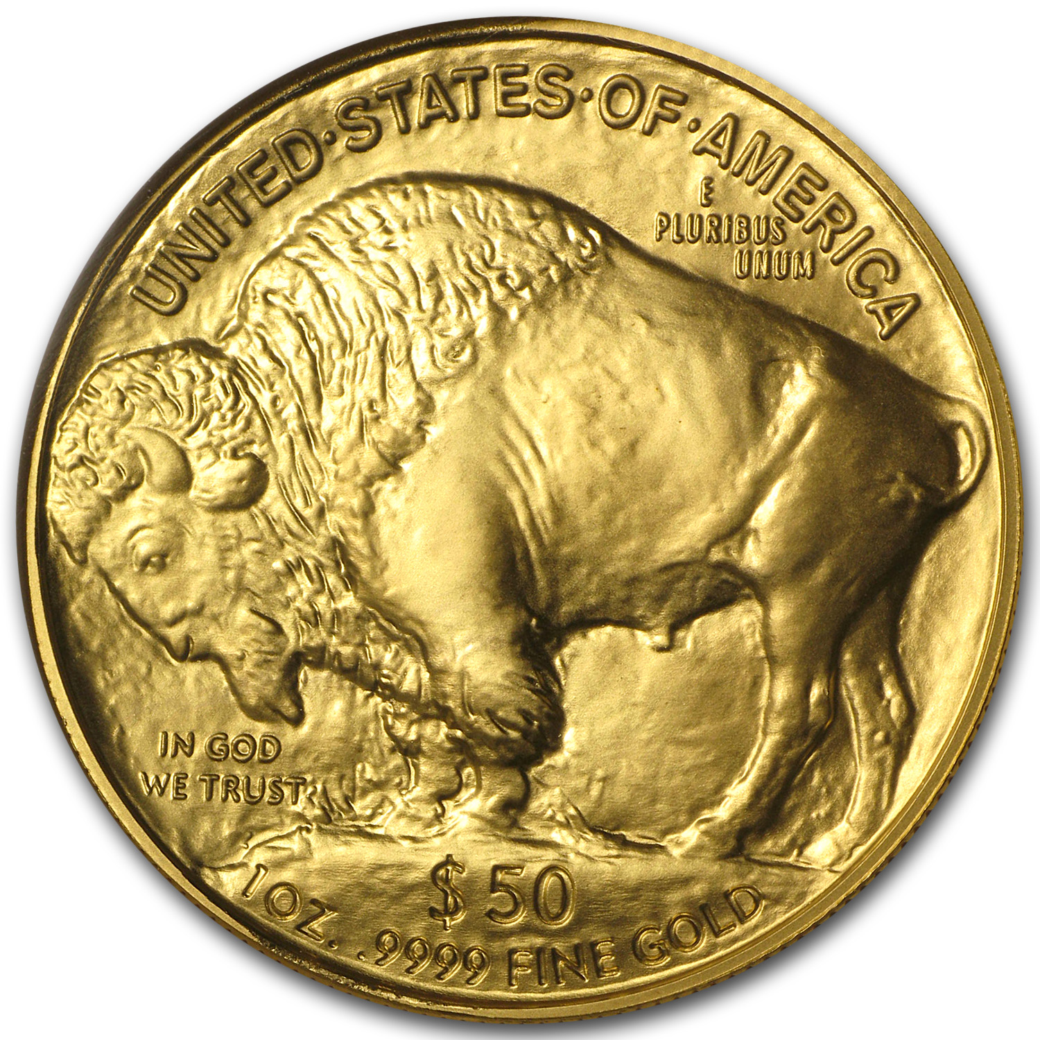 2006 1 oz Gold Buffalo MS-70 Inaugural NGC