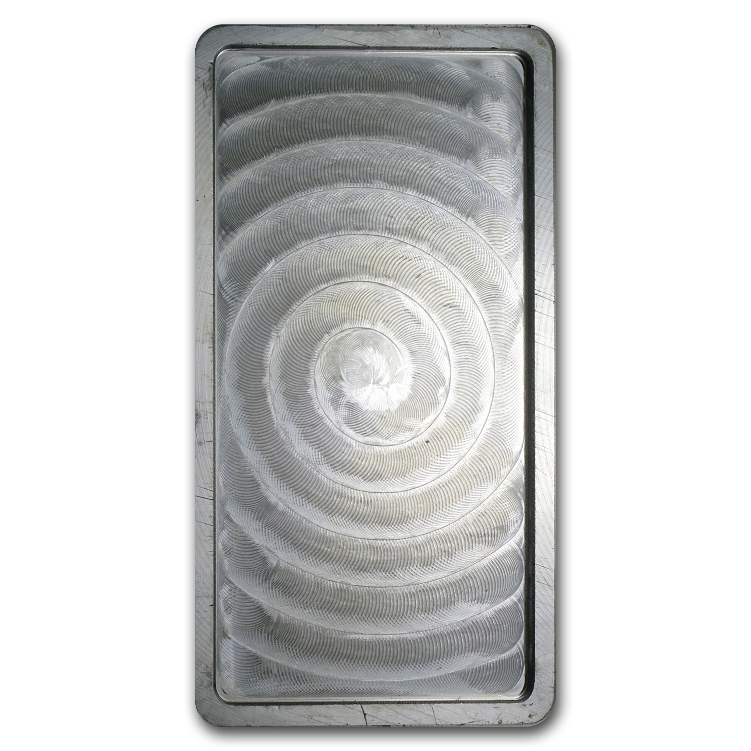 10 oz Silver Bars - Academy (Pressed, Stackable)