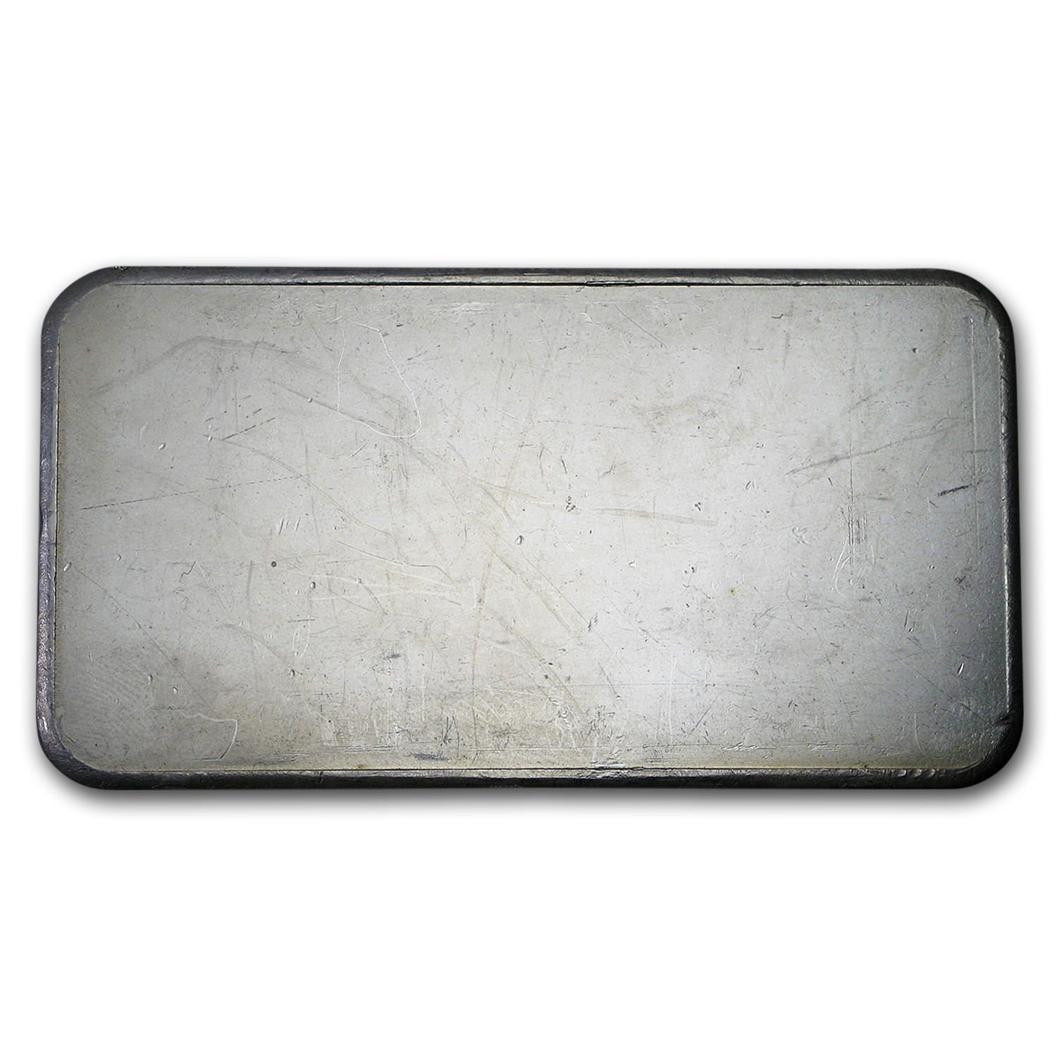 10 oz Silver Bar - Engelhard (Wide/Pressed, Bull Logo)