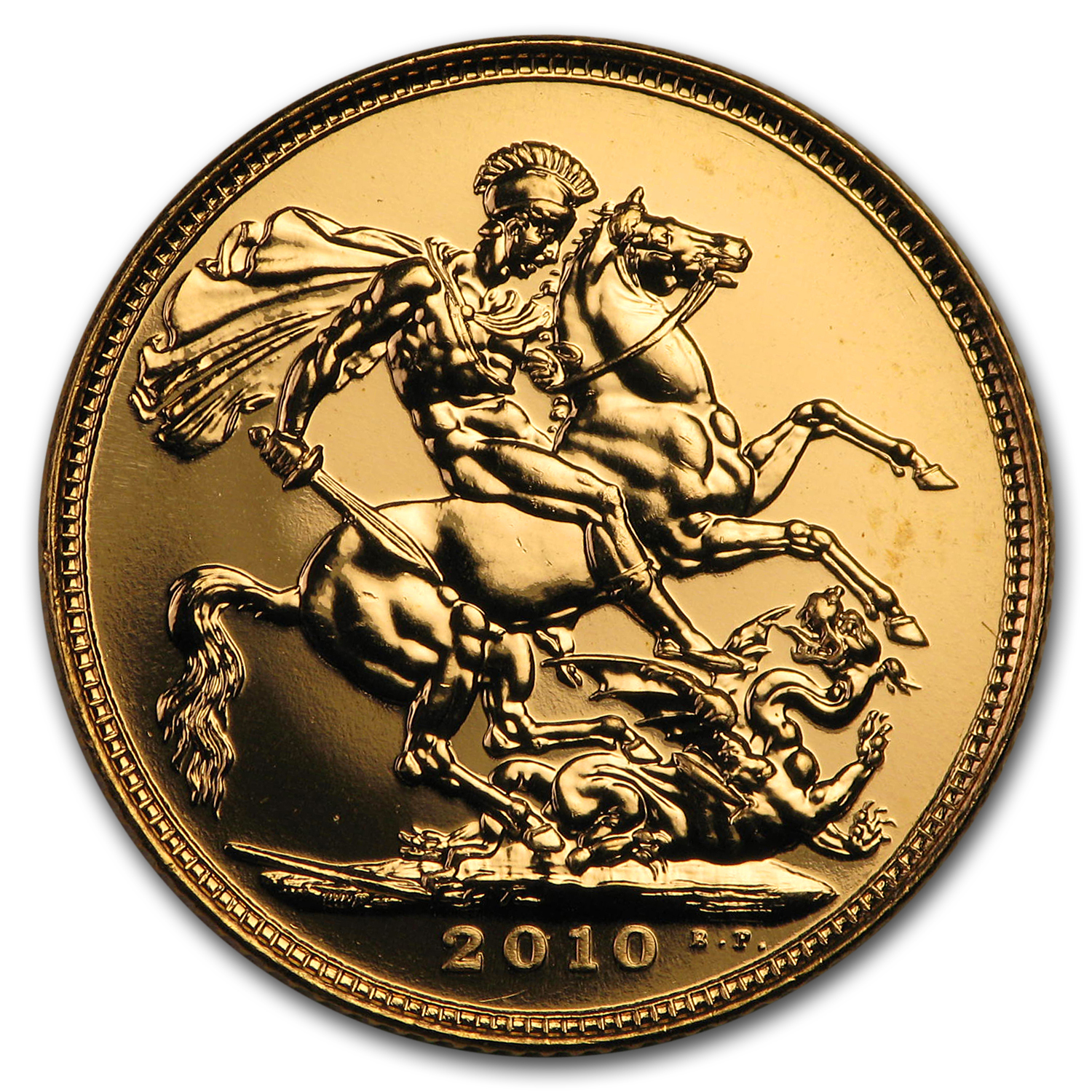 2010 Great Britain Gold Sovereign BU