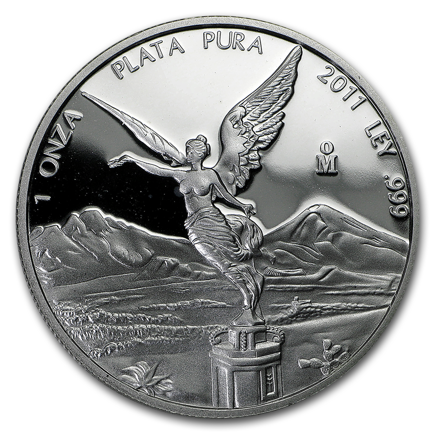 2011 Mexico 1 oz Silver Libertad Proof (In Capsule)