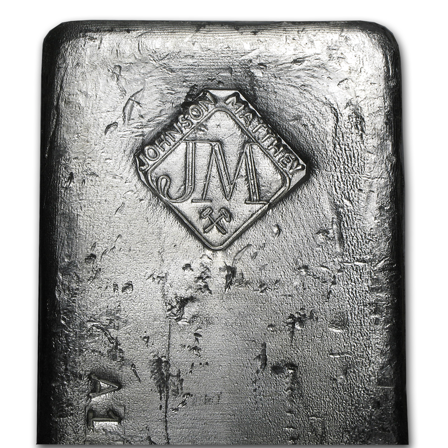 100 oz Silver Bar - Johnson Matthey (Serial #/Canada)