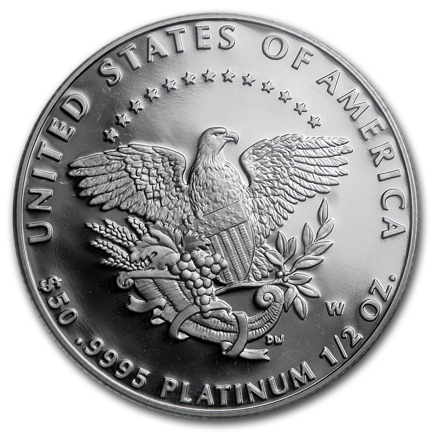 2005-W 1/2 oz Proof Platinum Eagle PR-70 PCGS (Registry Set)